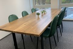 Saarepuidust kontori laud